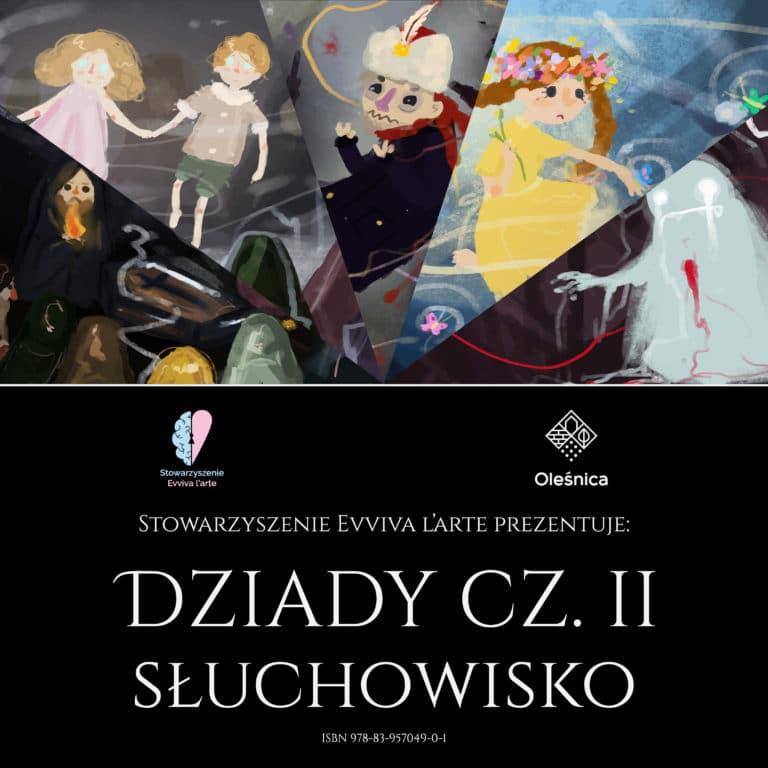 Dziady cz.II audiobook słuchowisko okładka